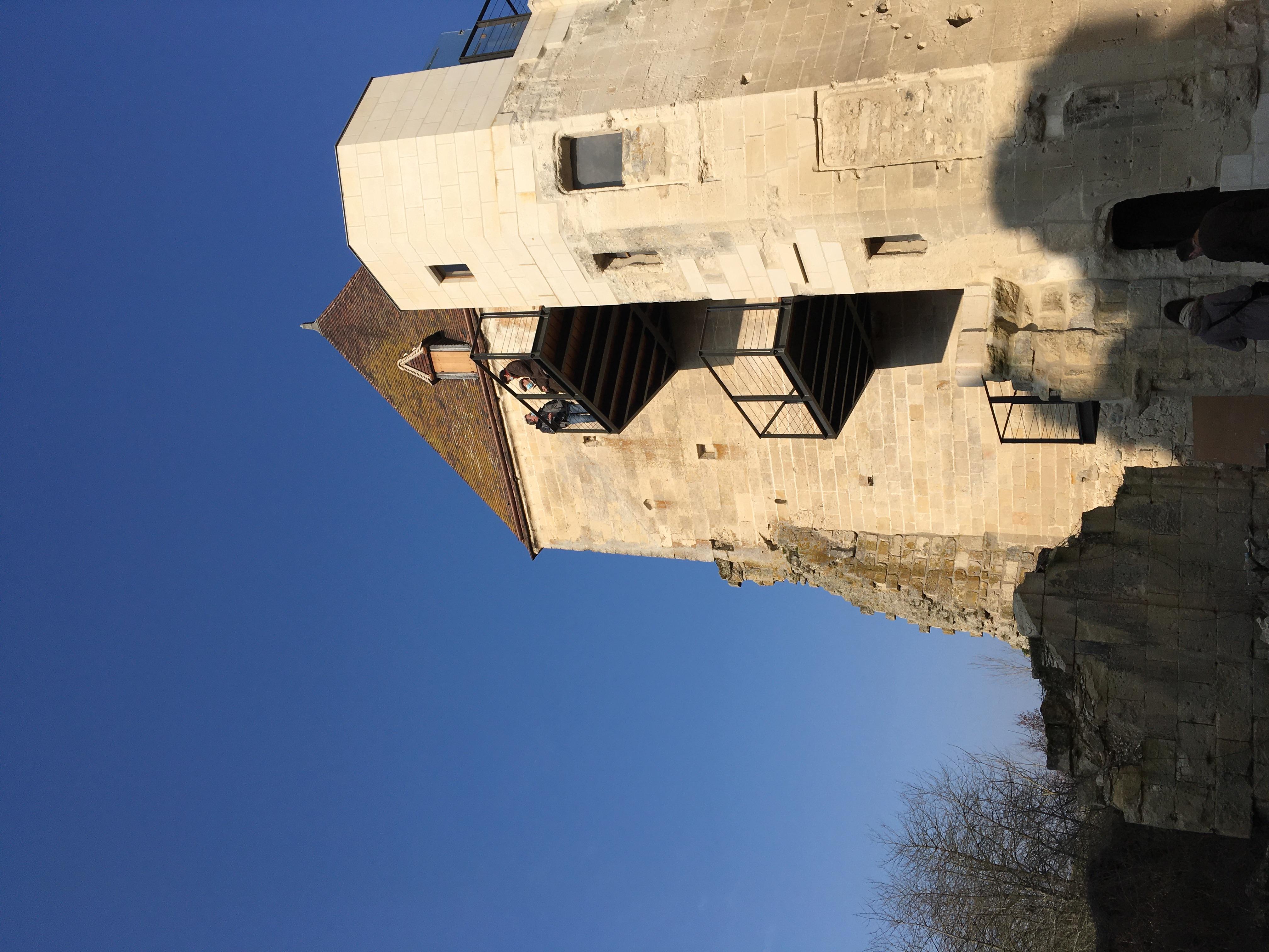 Passerelles métalliques Château d'Armentières sur Ourcq