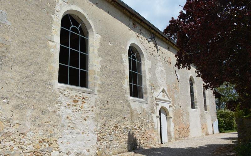 Châssis métallique d'une chapelle en Champagne 1
