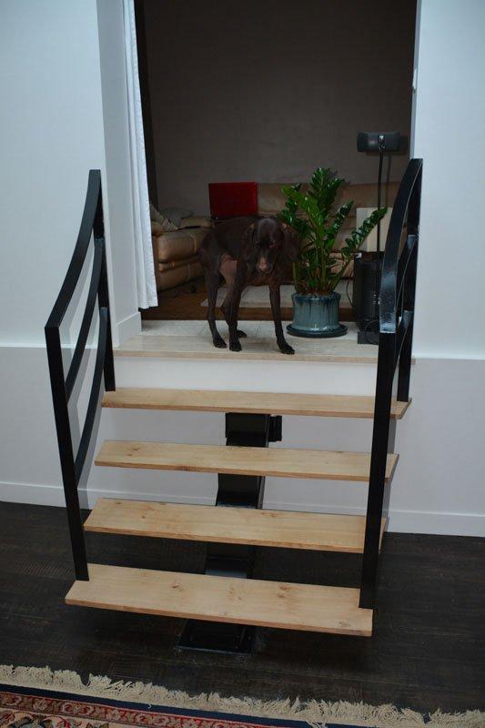 escalier int rieur contemporain les ferronniers de soissons. Black Bedroom Furniture Sets. Home Design Ideas