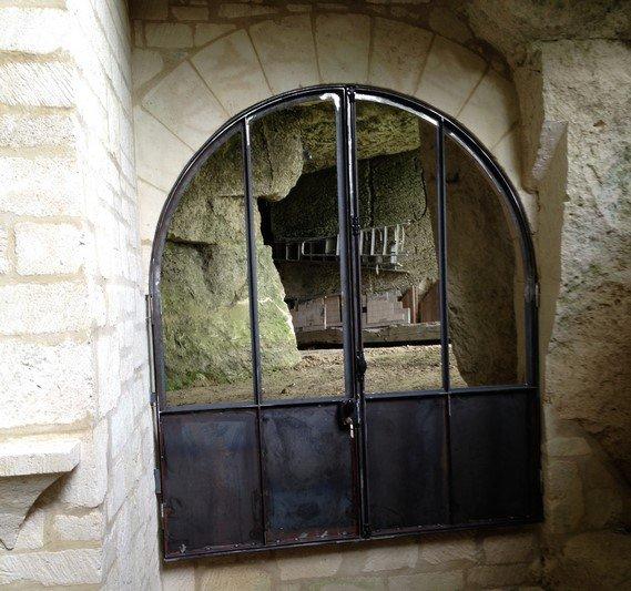 porte d'atelier à l'ancienne