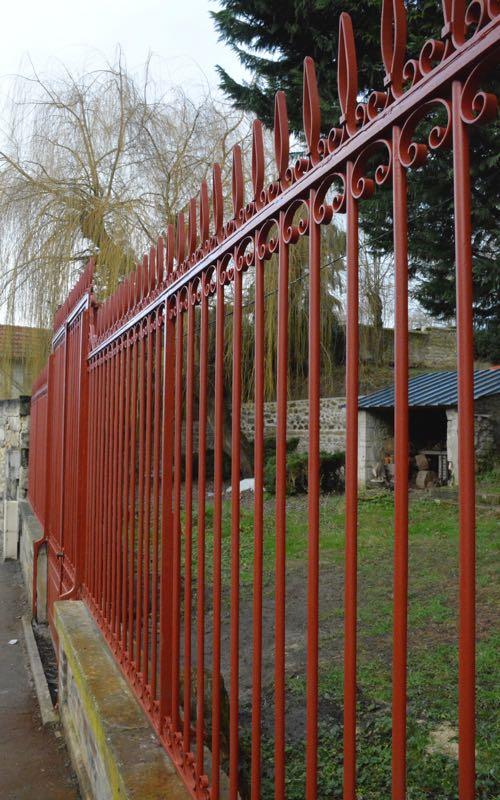 Rénovation de grilles anciennes