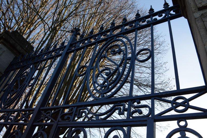 Rénovation à l'identique d'un portail