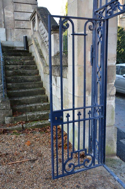 Rénovation d'un portail avec ouverture intérieure